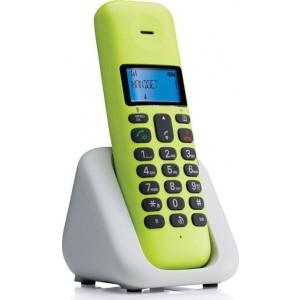 Ασύρματο Τηλέφωνο Motorola T301 Lime Lemon