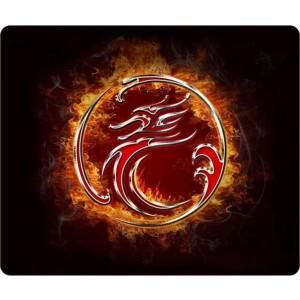 Gaming Mousepad iMICE Estone Red Dragon Αντιολισθητικό 290x244mm Μαύρο