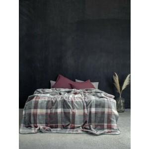 Κουβέρτα Βελουτέ Μονή 160x220 Terrene Nima (16796)