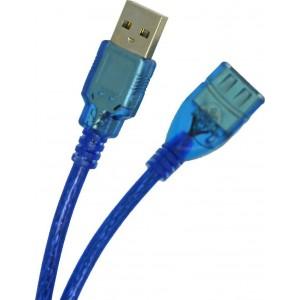 Καλώδιο Προέκτασης usb Ancus USB 2.0 Cable USB-A male - USB-A female Μπλε 1.8m