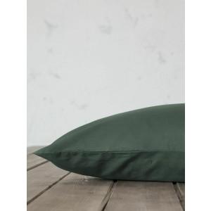 Σετ Μαξιλαροθήκες Nima Unicolors 52x72 Forest Green