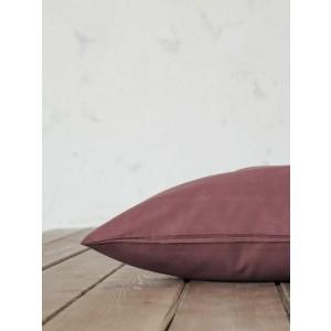 Σετ Μαξιλαροθήκες Nima Unicolors 52x72 Terracotta