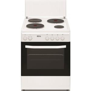 Ideal Κουζίνα 60lt με Εστίες Εμαγιέ IDCM 6060 ENW