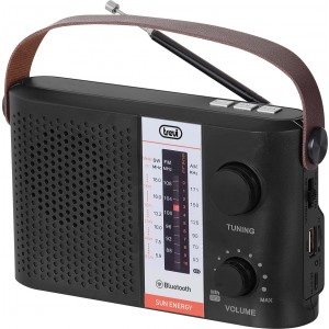 Ραδιόφωνο επαναφορτιζόμενο με ρεύμα και πάνελ Trevi RA-7F25