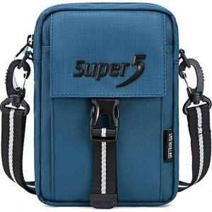 Τσάντα Ώμου k00104-bl Super Five Blue