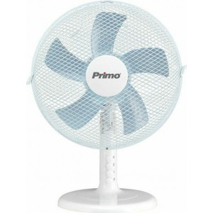 Επιτραπέζιος Ανεμιστήρας Primo PRTF-80509 12'' 30cm Λευκός