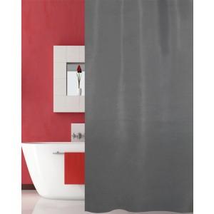 Κουρτίνα Μπάνιου Υφασμάτινη (180x200) San Lorentzo Solid Grey 1030B GREY