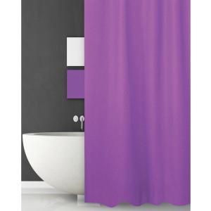 Κουρτίνα Μπάνιου (180x180) Solid Purple San Lorentzo (1030PURP)