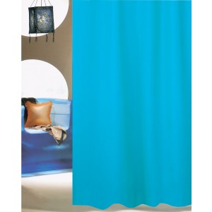 Κουρτίνα Μπάνιου (180x200) San Lorentzo Solid Aqua 1030B AQUA