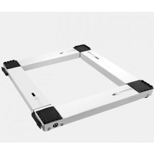 Βάση Κουζίνας-Πλυντηρίου-Ψυγείου Τετράγωνη Μεταλλική Λευκή Roller 00682