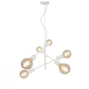 Viokef Φωτιστικό Οροφής Μεταλλικό Λευκό Freestyle 4193101