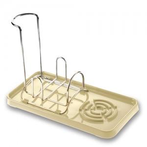 Πλαστικό αξεσουάρ νεροχύτη μπεζ 22.5cm 10-014-022