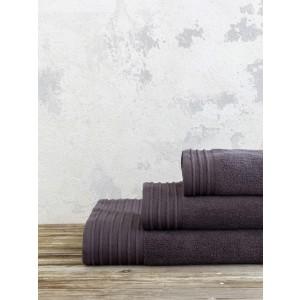 Πετσέτα Χεριών Nima Feel Fresh 40x60 Dark Gray