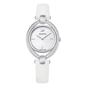Swarovski Ρολόϊ Stella Leather Strap White (5376812)