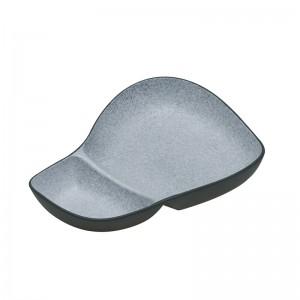 Ορντεβιέρα/Ξηροκαρπιέρα Granite Γκρι Πορσελάνη 29εκ. HFA (5419021)