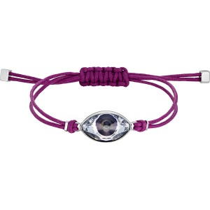 Swarovski Βραχιόλι Power Collection Evil Eye Purple (5508534)