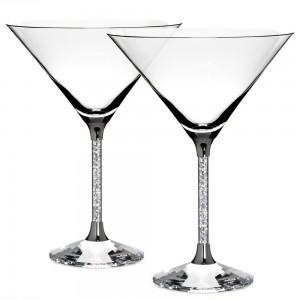 Swarovski Σετ 2 τεμ Ποτήρια Κοκτέιλ Crystalline Cocktail Glasses (626602)
