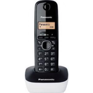 Panasonic KX-TG1611GRW Μαύρο/Λευκό