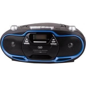 Φορητό ΡάδιοCD-Κασσετόφωνο-USB Trevi CMP 574 Blue