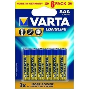 Varta LongLife AAA (6τμχ)