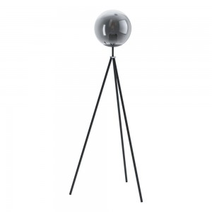 Eglo Φωτιστικό Δαπέδου Isorella Black-Clear 98509