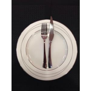 Σερβίτσιο Πιάτων 72 τεμ. Πορσελάνη Platinum White