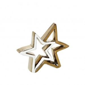 Αστέρι Χρυσό Πορσελάνη 14εκ. Espiel (XSY124K4)