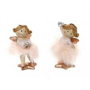 Αγγελάκια Με Ροζ Γούνα 13εκ. Assort. Espiel (MT2418K2)