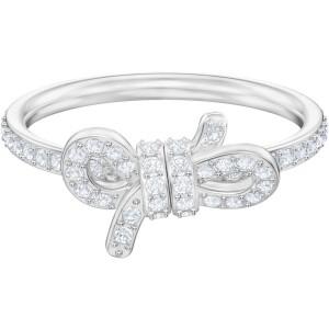 Swarovski Δαχτυλίδι Νο55 Επιπλατινωμένο Φιόγκος, Lifelong Bow (5457269)