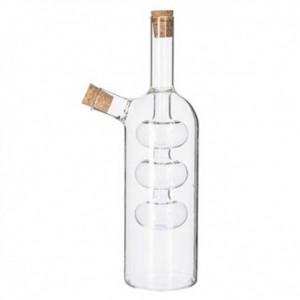 Μπουκάλι Για Λάδι & Ξύδι Γυάλινο Design Marva (150031)