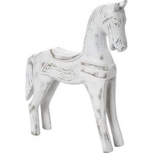 Διακοσμητικό Αλογο Λευκό Espiel 21,5εκ KIR228K2