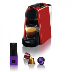 Delonghi EN85.R Essenza Mini Ruby Red Μηχανή Nespresso