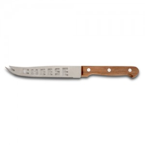 "Aνοξείδωτο ατσάλινο μαχαίρι τυριού ""Terrestrial"" με ξύλινη λαβή 23.5cm 10-058-055"