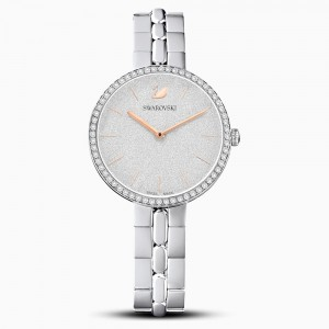 Swarovski Cosmopolitan Ρολόι, Metal Bracelet, White, Stainless Steel (5517807)