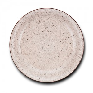 """Πιάτο φρούτου stoneware """"Dot"""" 19cm 10-141-111"""