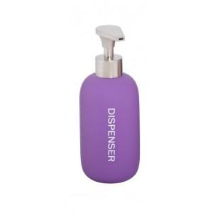 Dispenser Rubber-Σαπουνοθήκη μωβ Marva(478100)