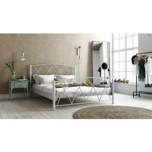 Μεταλλικό Κρεβάτι Ερμής(90x190)