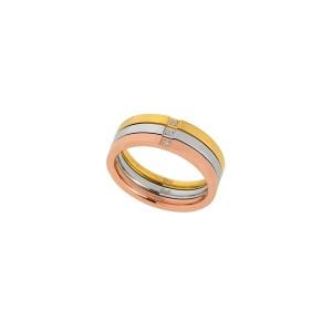 Δαχτυλίδι Ατσάλινο Visetti (HT-WRG002SGR)