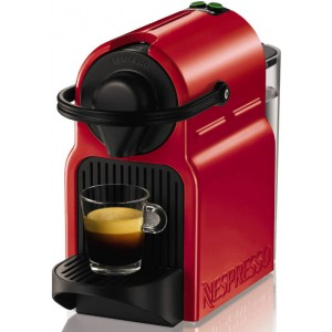 Krups Nespresso XN1005S Inissia Programmatc Κόκκινο Καφετιέρα Espresso