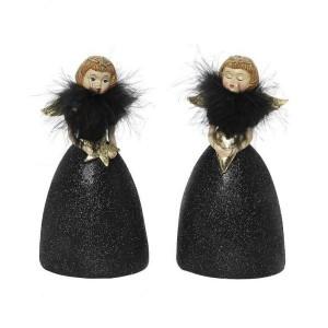 Αγγελάκια Με Μαύρο Φόρεμα 15εκ. Assort. Espiel (MT2456K2)