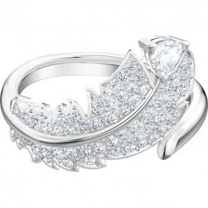 Swarovski Δαχτυλίδι Νο52 Επιπλατινωμένο, Nice (5515029)