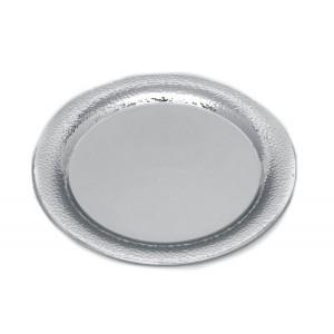 Δίσκος επάργυρος στρογγυλός Σφυρήλατος (34εκ.) (30127RG)