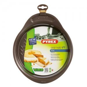 PYREX Φόρμα Κέικ-Ταψί στρογγυλό 26 cm asimetria - (304013)