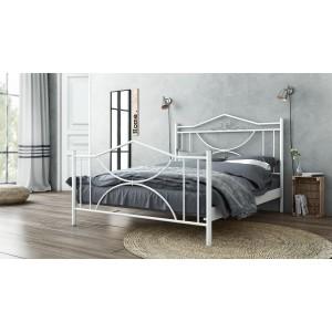 Μεταλλικό Κρεβάτι Ρόζα(110x190)