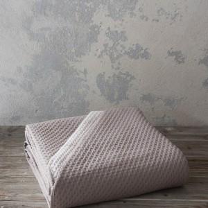 Κουβερλί Υπέρδιπλο Jot Taupe/Pink Nima (25524)
