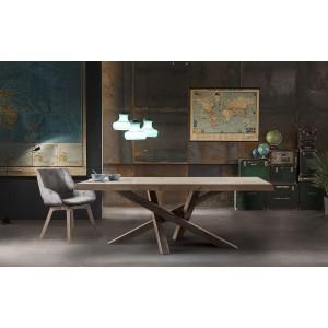 Τραπέζι Palermo 180x95x77εκ. (T150)