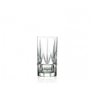 Σετ 6 Τεμ. Ποτήρια Σωλήνα Κρυστάλλινα Chic RCR