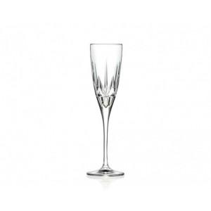 Σετ 6 Τεμ. Ποτήρια Σαμπάνιας Κρυστάλλινα Chic RCR