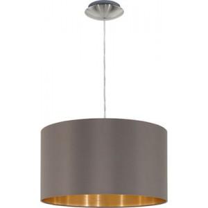 Eglo Φωτιστικό Οροφής Maserlo Καπουτσίνο-Χρυσό 31603