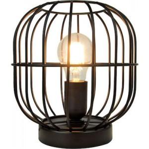 Viokef Επιτραπέζιο Φωτιστικό Μεταλλικό Μαύρο Zenith (4211400)